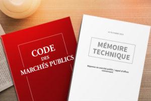 Mémoire technique marches publics